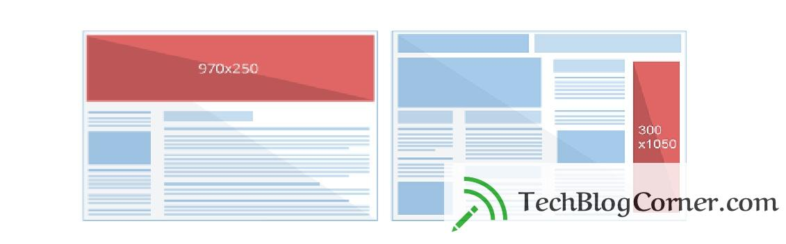 new-ad unit sizes-adsense-techblogcorner