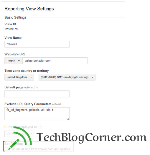bot-filtering-google-analytics-techblogcorner