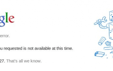google-503-error-techblogcorner