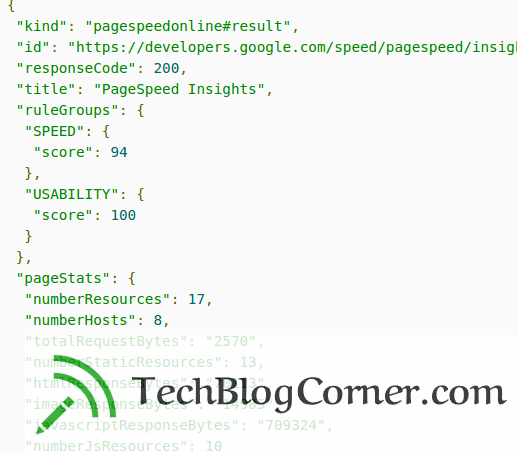 pagespeed-insights-api-google-techblogcorner
