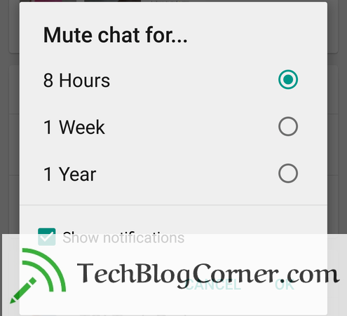 Whatsapp-mute-feature-Techblogcorner