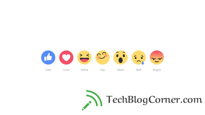 Facebook-reaction-emotions-techblogcorner