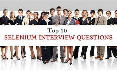 Selenium Questions