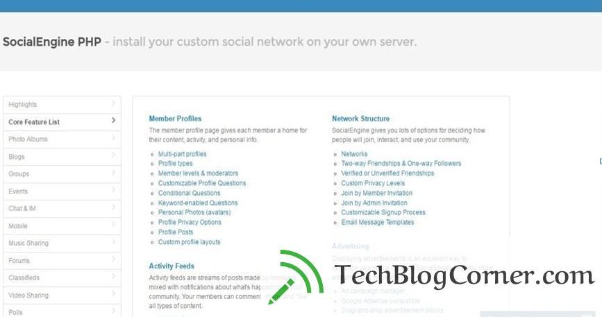 Social engine very friendly
