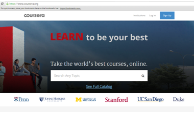 Coursera- review