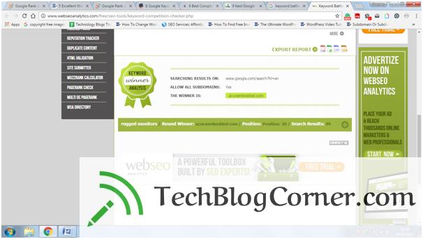 keyword-battle-techblogcorner