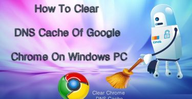 how to clear dns cache in google chrome- techblogcorner