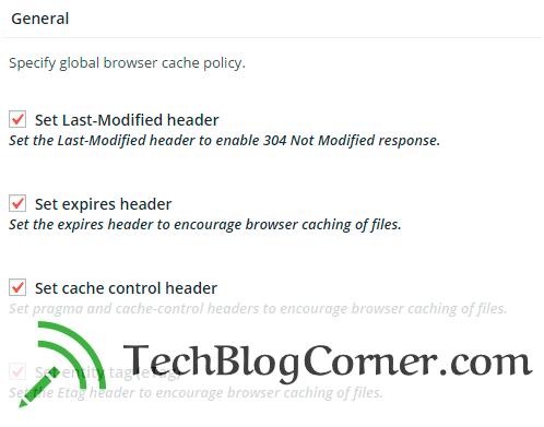 W3 Total Cache Plugin - techblogcorner