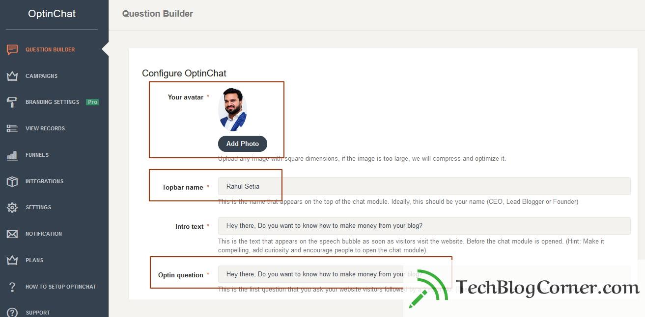 OptinChat Review - Best Tool to Collect Email ID's with AI Chat 5