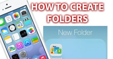 make folders on iphone- techblogcorner