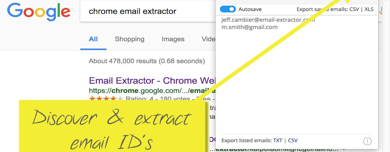 email-extract-chrome