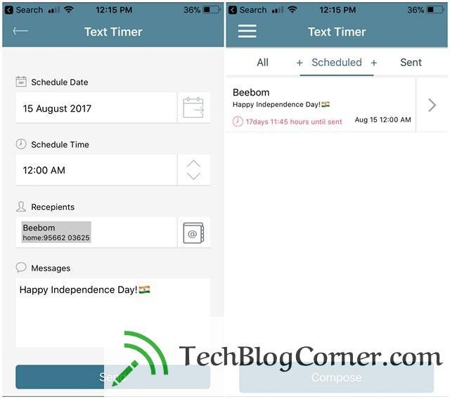 Text-Timer-