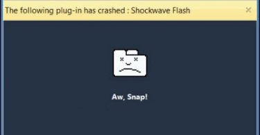shockwave-flash-crashesd-in-chrome
