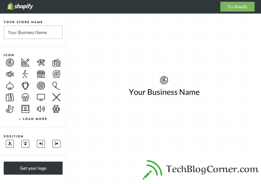 shopify logo maker