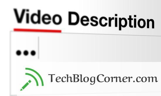 video-descriptions