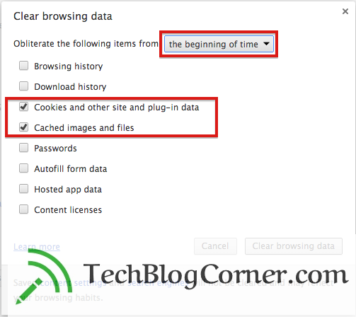 How To Delete Cookies In Chrome & Mozilla Firefox 2