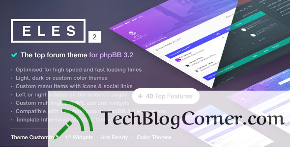 10 Best Selling Responsive phpBB Themes for Forum, Community Sites 4