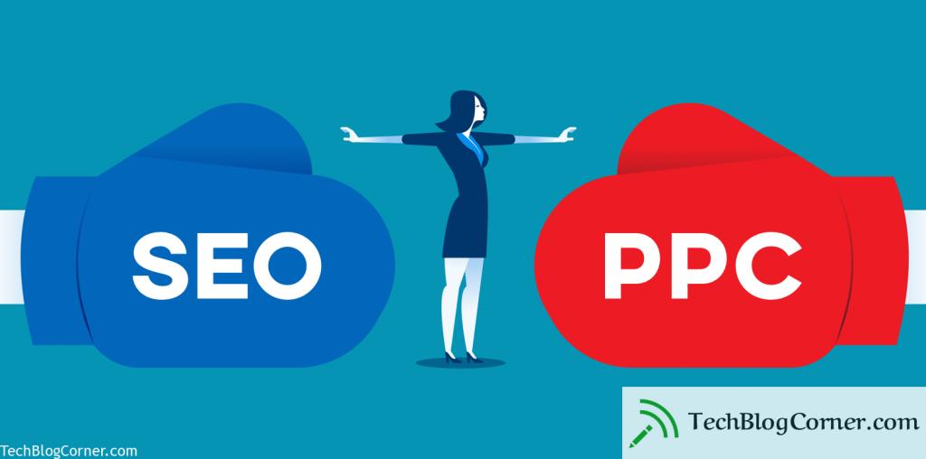 seo vs ppc - techblogcorner