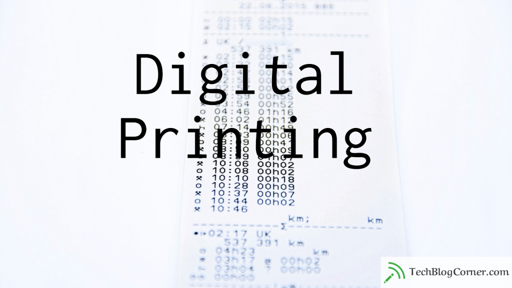 4 Things You Should Know About Digital Printing 1