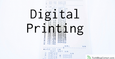 Digital printing is defined as a modern printing method that makes use of electronic data for producing prints.