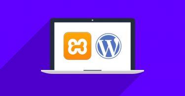 Localhost-XAMPP-wordpress