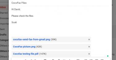 How to Send a Fax through Google Voice via CocoFax