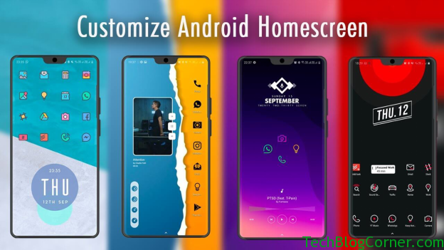 Customize home screen android
