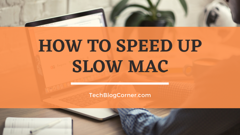 How to speed up slow mac