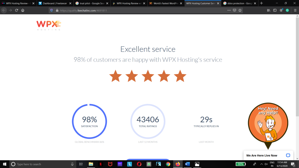 WPX Hosting Review - Why They Are Fastest Hosting Provider 1