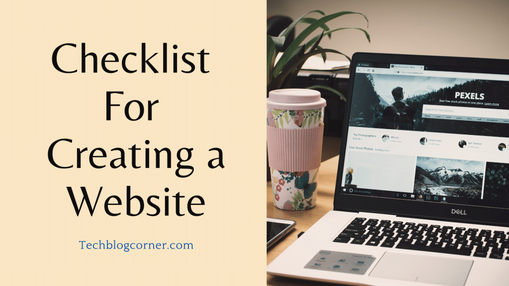 10 Point Checklist For Creating a Website 1