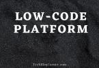 Low code platforms