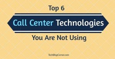 Call-center-technologies