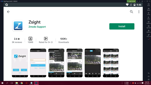 How To Download and Install Zsight For PC? 3