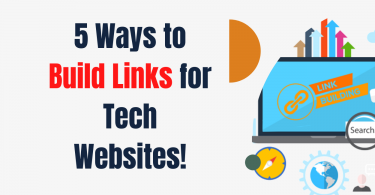 5 Ways to Build Links for Tech Websites