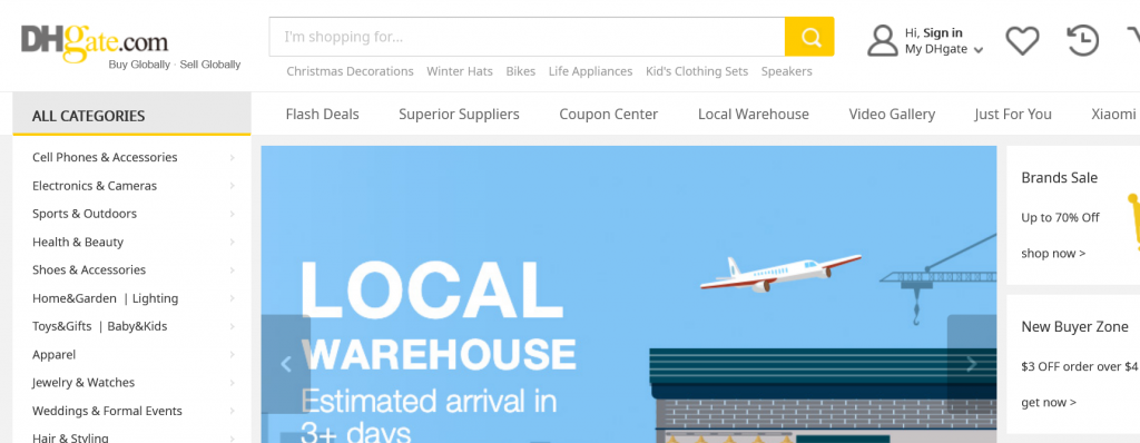 12 Best Alternative Sites like Alibaba for Dropshipping 3