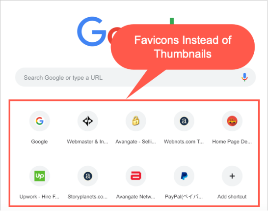 How to Remove Shortcuts from Google Homepage in Google Chrome