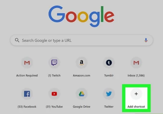 How to Remove Shortcuts from Google Homepage in Google Chrome 11