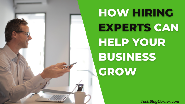 How Hiring Experts Can Help Your Business Grow