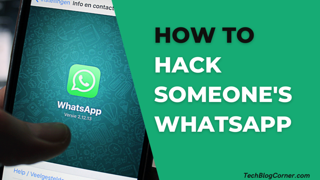 How to Hack Someone's WhatsApp without Touching 1