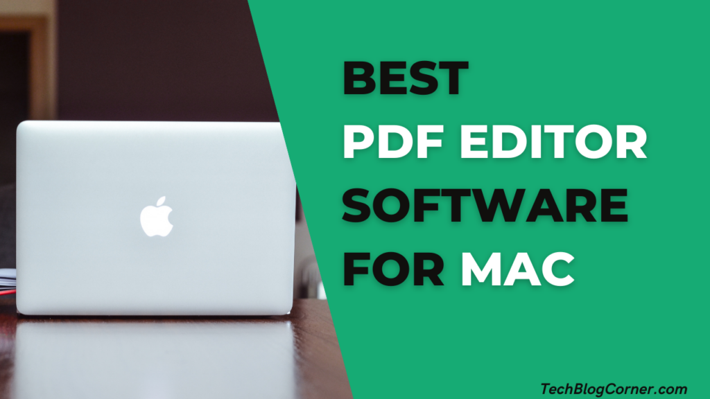 Best PDF Editor Software for Mac