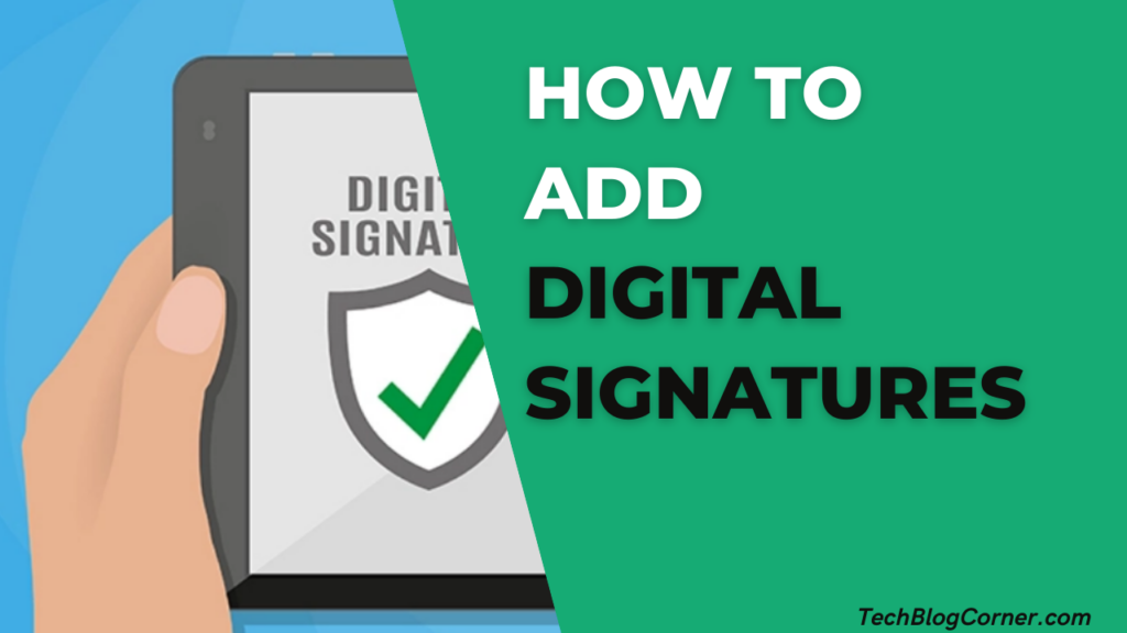 How to Add a Digital Signature to a Word Document via Email 1