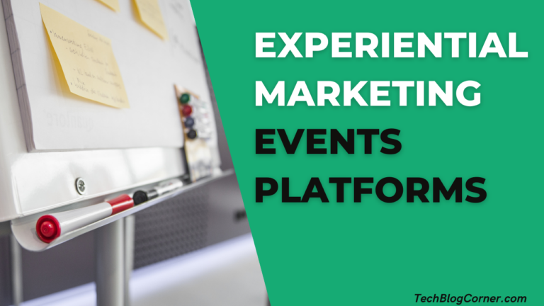 experiential marketing Events Platforms
