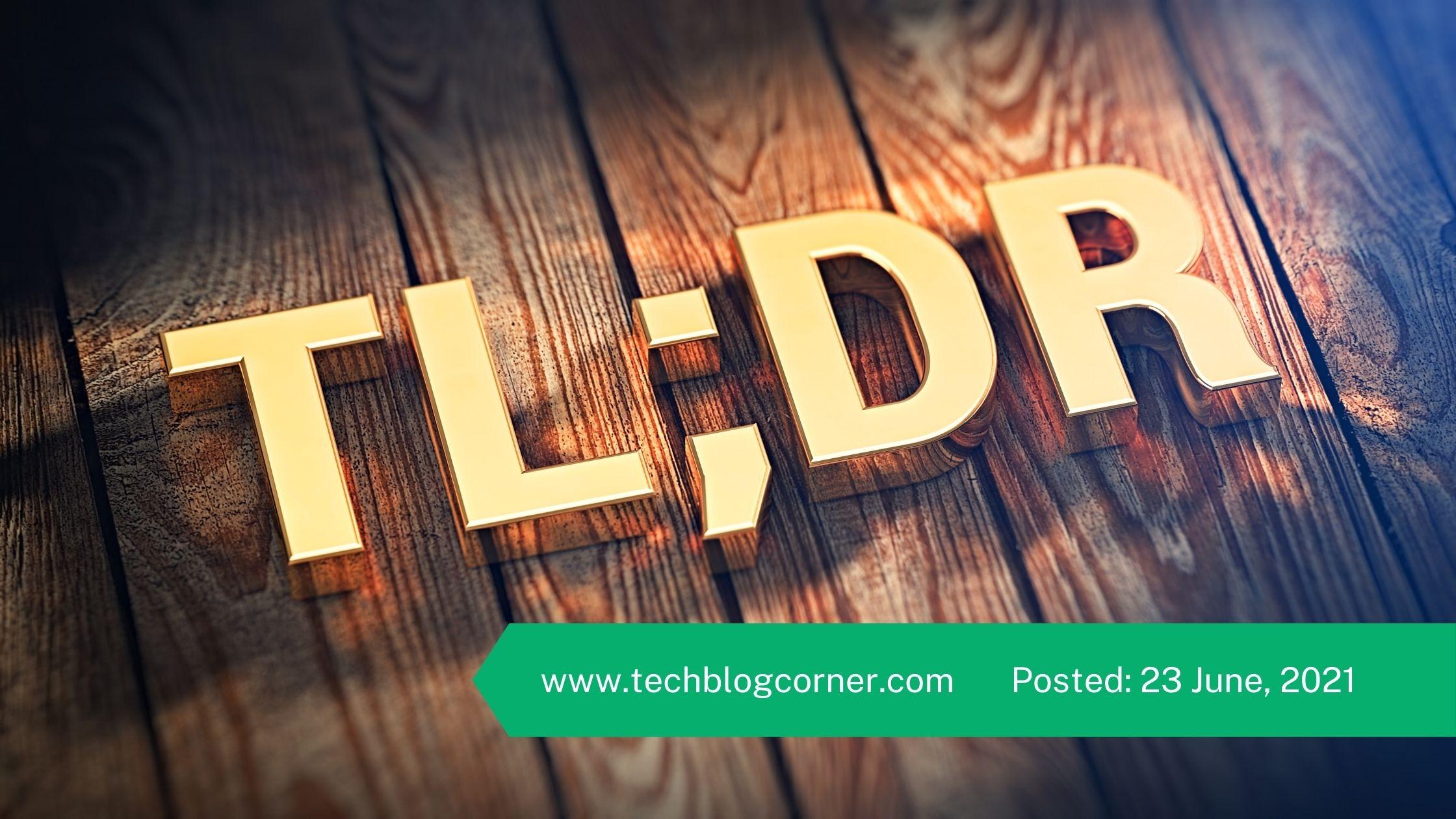 TLDR-