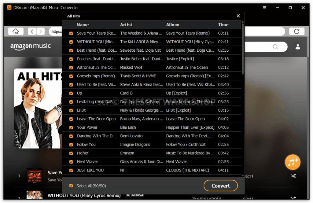 How to Convert Amazon Prime Music to MP3 5
