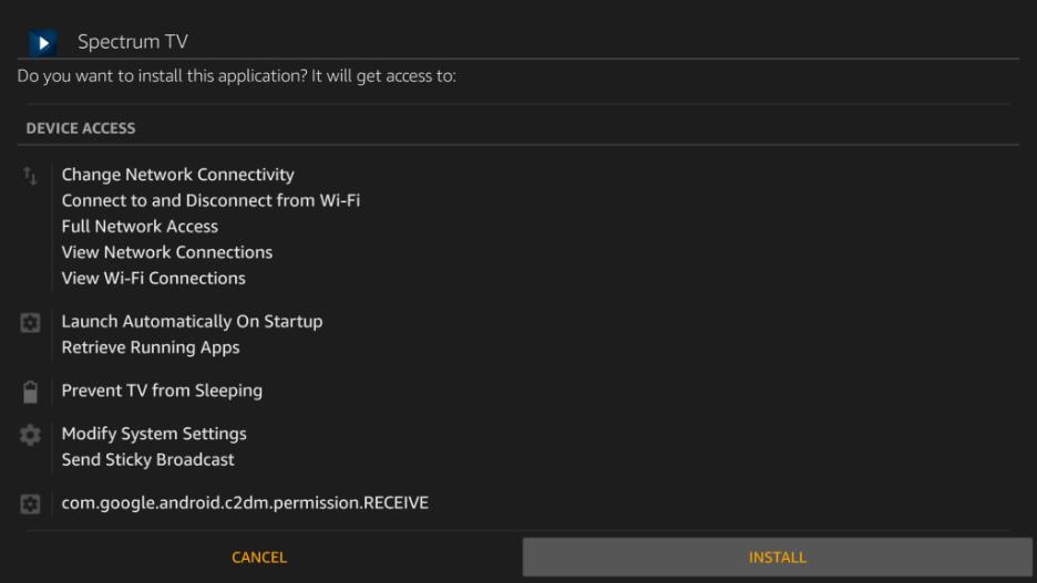 How to install Spectrum TV App on Firestick/Fire TV 13