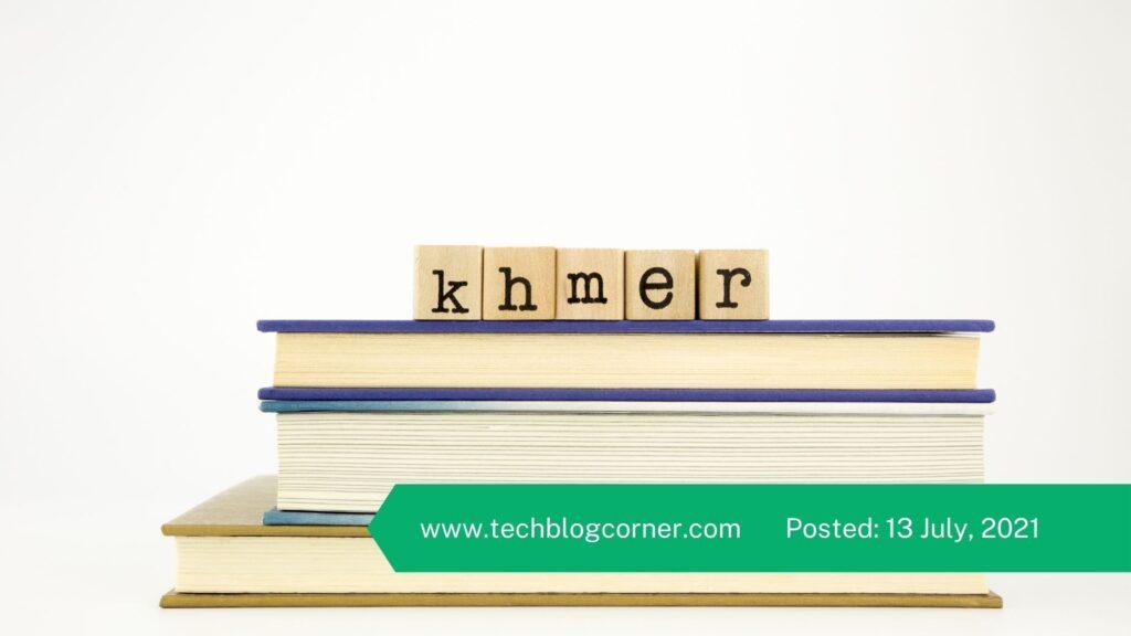Learning Khmer Language