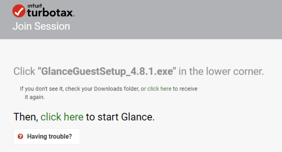 How to Get glance.intuit.com Remote Access 3