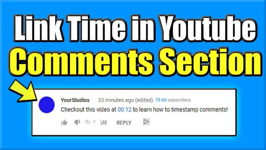 add timestamps in YouTube comments